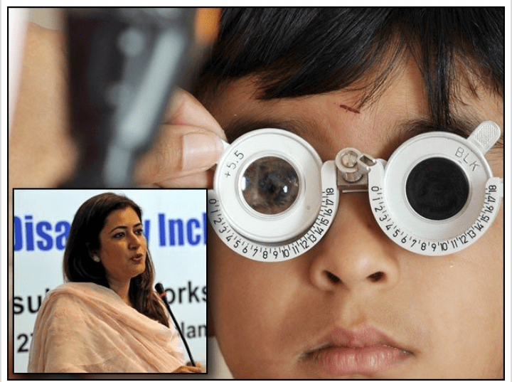 Read more about the article Effective measures are needed to curb the spread of eye diseases in Pakistan, says Manza Gilani